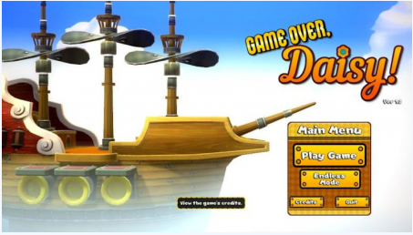 GAME OVER, DAISY Game Walkthrough Download for PC