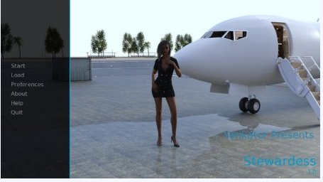 MY NEW LIFE AS A STEWARDESS 1.0 Game Walkthrough Download for PC