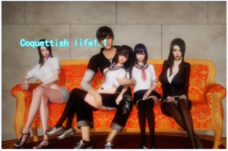 COQUETTISH LIFE 1.1 Game Walkthrough Download for PC