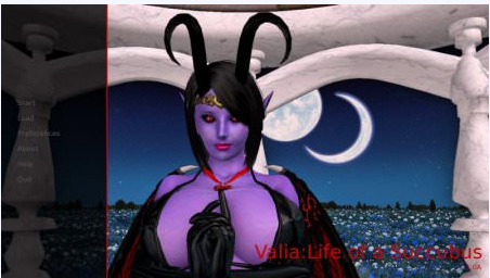 VALIA: LIFE OF A SUCCUBUS 1.0A Game Walkthrough Download for PC