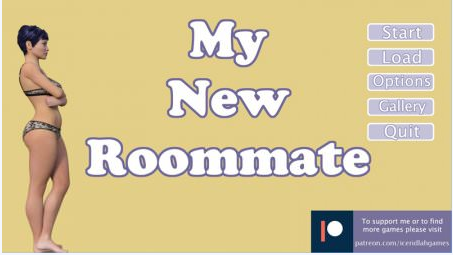 MY NEW ROOMMATE 1.1 Game Walkthrough Download for PC