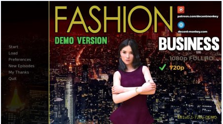 FASHION BUSINESS: MONICA'S ADVENTURES 0.5 Game Walkthrough Download for PC
