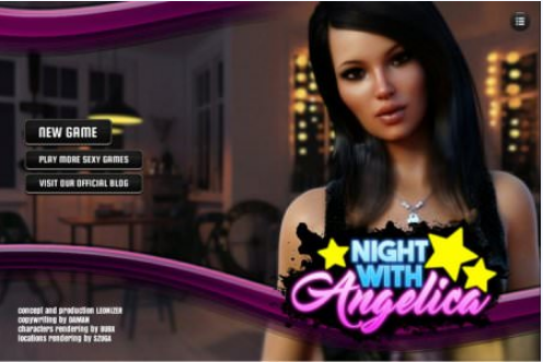 NIGHT WITH ANGELICA Game Walkthrough Download for PC