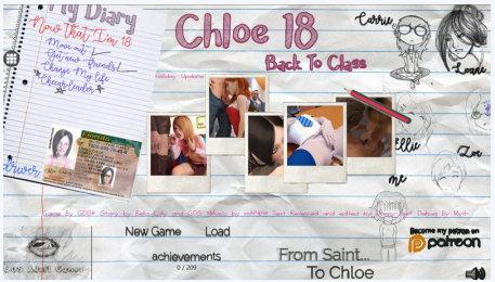 Chloe18 - Back To Class Full Game Walkthrough Download for PC