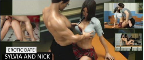 EROTIC DATE: SYLVIA AND NICK Game Walkthrough Download for PC